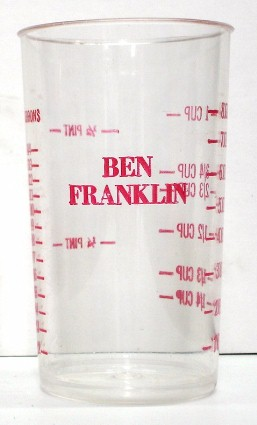 Ben Franklin Stores / plastic