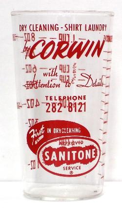 Corwin Sanitone Cleaners