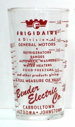 Frigidaire Glass es featuring Bender Electric