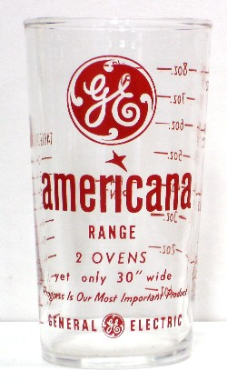 General Electric Americana Range