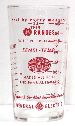 General Electric Sensi-Temp Ranges