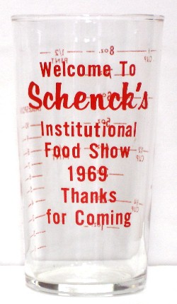 Schenck's Institutional Food Show 1969