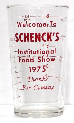 Schenck's Institutional Food Show 1975